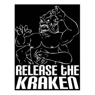 Lance el Kraken Postales