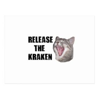 ¡Lance el Kraken! Postales