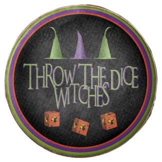 Lance el postre de Bunco de las brujas de los