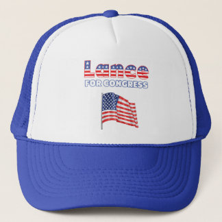 Lance for Congress Patriotic American Flag Trucker Hat