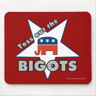 ¡Lance hacia fuera a los FANÁTICOS republicanos! Tapetes De Raton