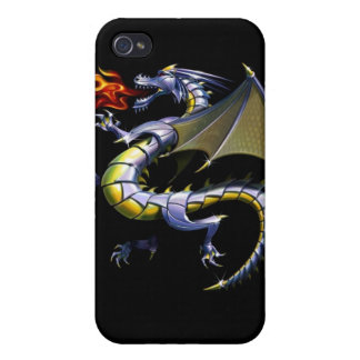 Lance la caja de la mota del iPhone 4 de Kraken iPhone 4 Fundas