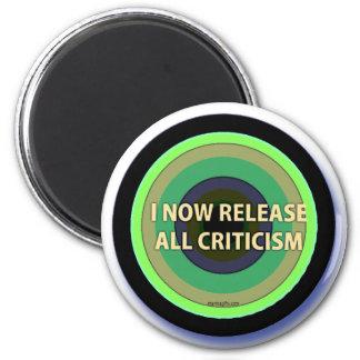 Lance las críticas imán redondo 5 cm