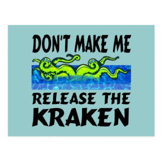 Lance las postales de Kraken