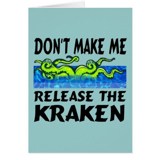 Lance las tarjetas de Kraken