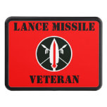 Lance Missile Veteran Tow Hitch Cover