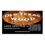 Lance Satterfield Double-Sided Standard Business Cards (Pack Of 100)
