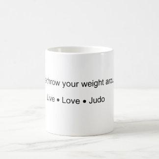 Lance su peso taza básica blanca