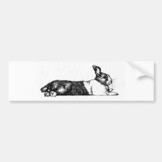 Lance the Unamused Bunneh Bumper Sticker