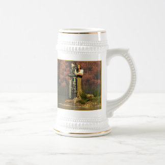 Lancelot and Guinevere Beer Stein
