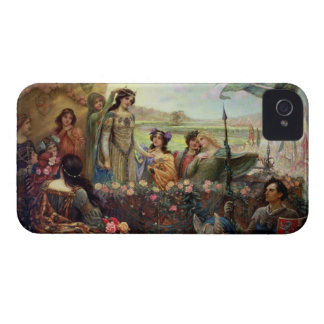 Lancelot and Guinevere iPhone 4 Case-Mate Cases