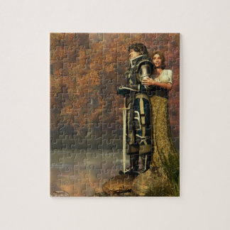 Lancelot and Guinevere Jigsaw Puzzle