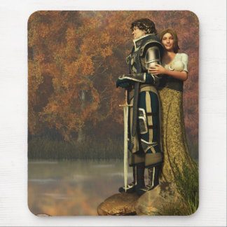 Lancelot and Guinevere Mouse Pad