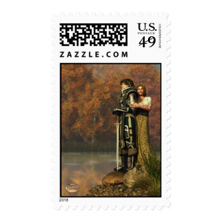 Lancelot and Guinevere Postage