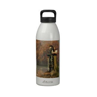 Lancelot and Guinevere Reusable Water Bottles