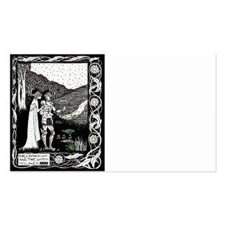 Lancelot and Hellawes the Witch Double-Sided Standard Business Cards (Pack Of 100)