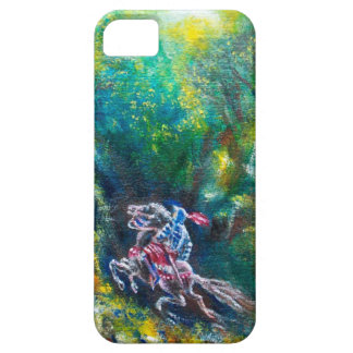 LANCELOT RIDING IN GREEN FOREST iPhone 5 CASE