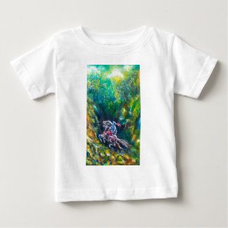 LANCELOT RIDING IN THE GREEN FOREST BABY T-Shirt