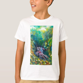 LANCELOT RIDING IN THE GREEN FOREST T-Shirt