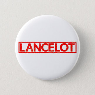 Lancelot Stamp Pinback Button