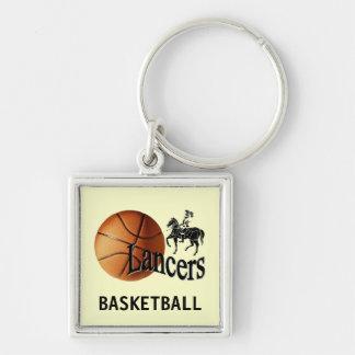Lancer Basketball Keychain