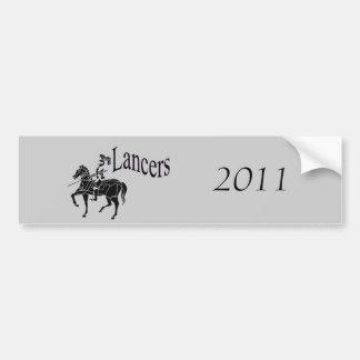 Lancer Bumper Sticker