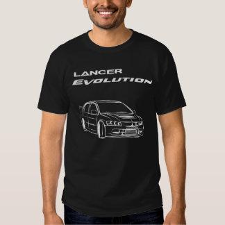 Lancer evo Lineart/ dark colors T-Shirt