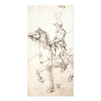 Lancer on Horseback by Albrecht Durer Card