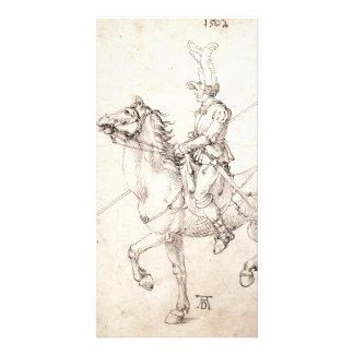 Lancer on Horseback by Albrecht Durer Card
