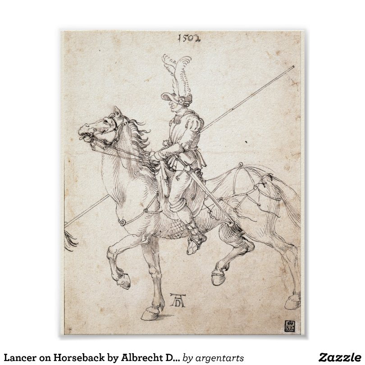 Lancer on Horseback by Albrecht Durer