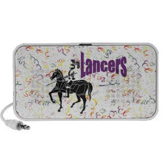 Lancer Party Swirls Doodle Speaker