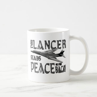 Lancer Stabs Peace in the Back Coffee Mug