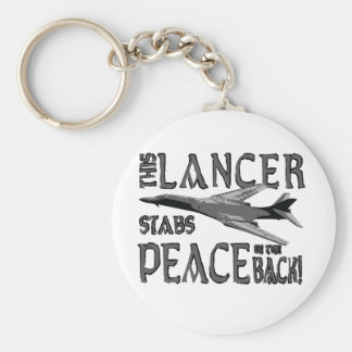 Lancer Stabs Peace in the Back Keychain
