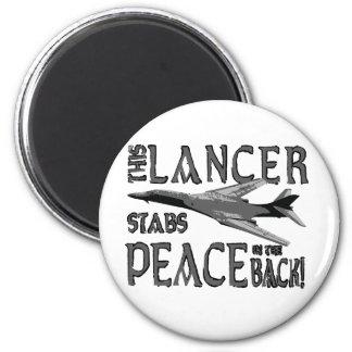 Lancer Stabs Peace in the Back Magnet