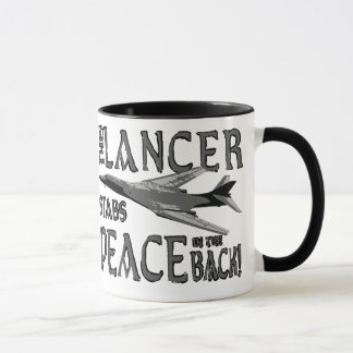 Lancer Stabs Peace in the Back Mug