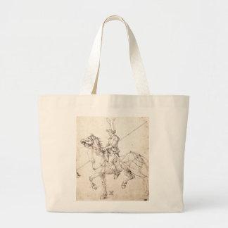 Lancero a caballo por Albrecht Durer Bolsa Lienzo