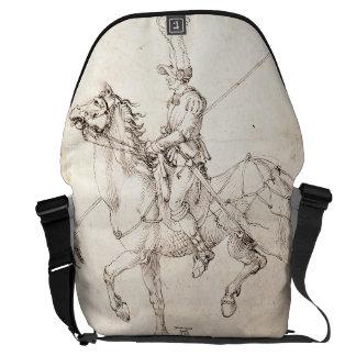 Lancero a caballo por Albrecht Durer Bolsa De Mensajeria