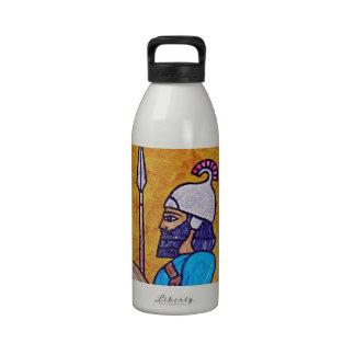 Lancero asirio botella de agua