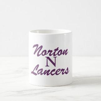 Lanceros de Norton Morphing la taza