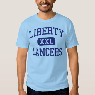 Lanceros Hutchinson medio Kansas de la libertad Polera