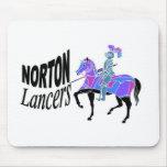 Lanceros Mousepad de Norton Tapete De Ratones