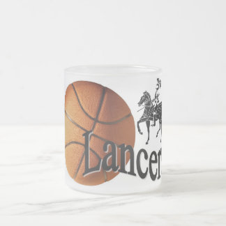 Lancers Basketball Frosted Mug