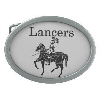 Lancers Belt Buckle