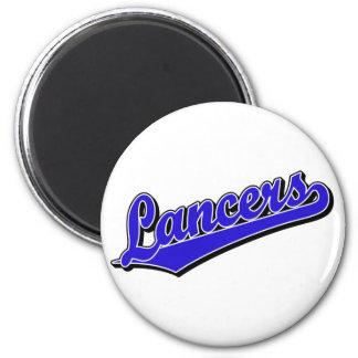 Lancers in Blue Magnet