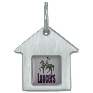 Lancers Pet Tag