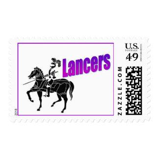 Lancers Postage Stamps