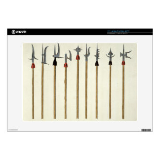 """Lances, spears, halberds and partisanes, plate fro 15"""" laptop skins"""