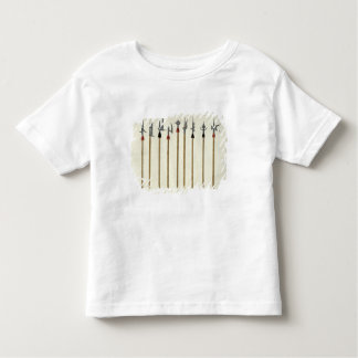 Lances, spears, halberds and partisanes, plate fro toddler t-shirt