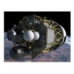 Lancha de desembarque lunar de la altaír tarjetas postales