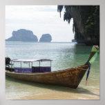Lancha Tailandia Impresiones
